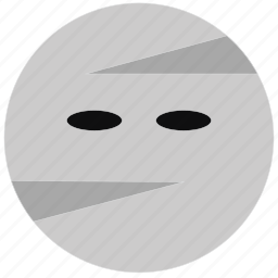 costume, halloween, mummy, scary, sheets icon