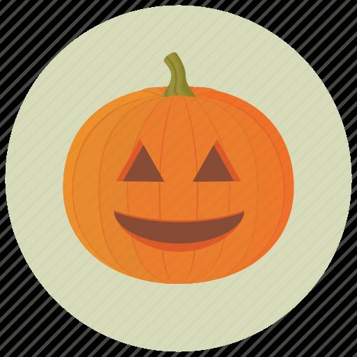 carve, decoration, halloween, pumpkin, smile icon