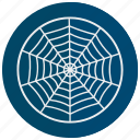 decoration, halloween, scary, spider, web icon