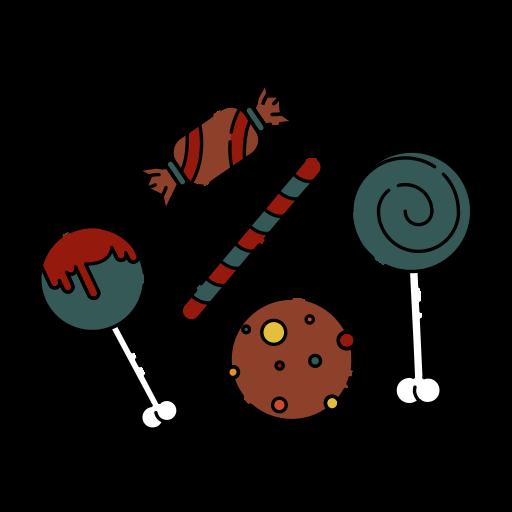 Bone, candy, creepy, halloween, sweet, sweetmeats, taste icon - Free download