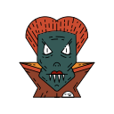 bat, creepy, dracula, fangs, halloween, scary, vampire icon