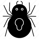 halloween, october, scary, spider icon