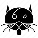 cat, halloween, october, scary icon