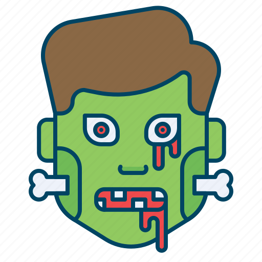 character, frankenstein, halloween, monster, scary, zombie icon