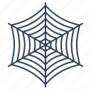 cobweb, net, spider, spiderweb, trap, tricky, web icon