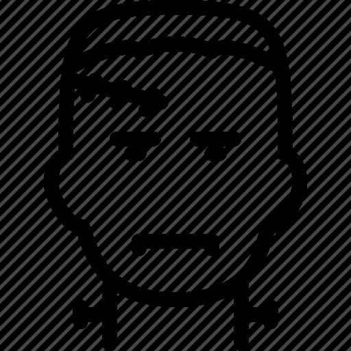 character, fictional, frankenstein, horror, monster icon