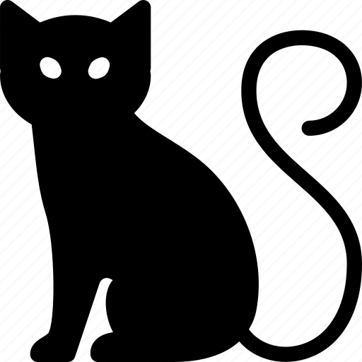 animal, cat, cute, pet, scary icon