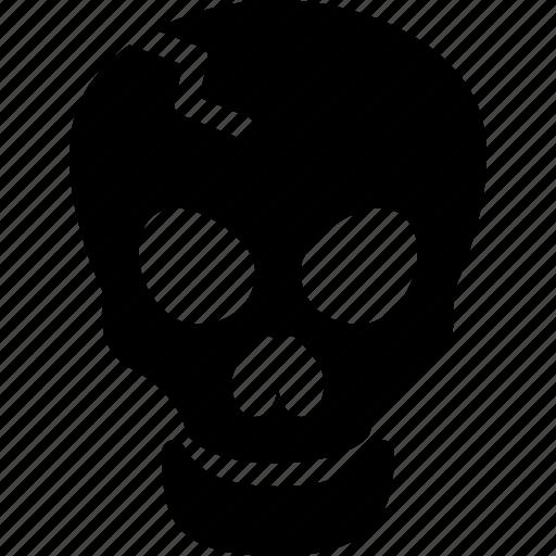 bones, danger, scary, skeleton, skull icon