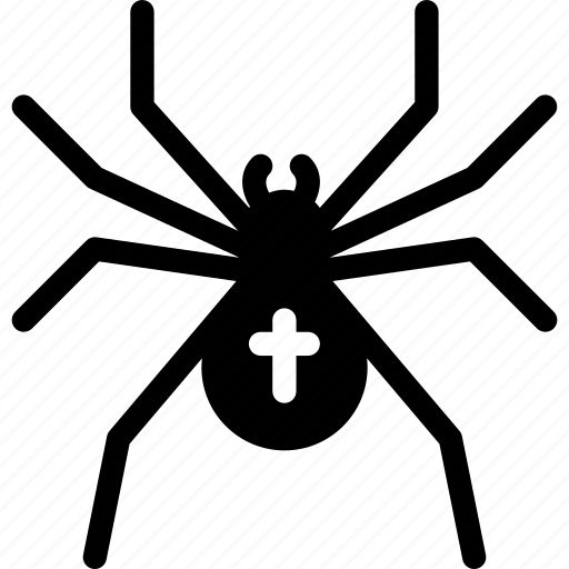 bot, bug, insect, spider, web icon