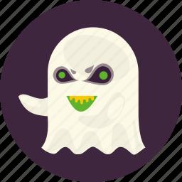 evil, festival, ghost, halloween, scary, soul, spirit icon