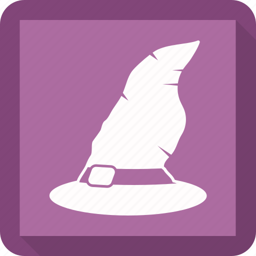 halloween, halloween hat, halloween witch cap, halloween witch hat icon