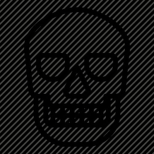 dead, halloween, head, skull icon