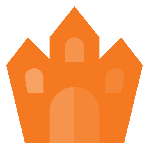 castle, ghost, halloween, holyday, scarry icon