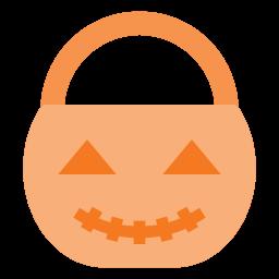 bucket, halloween, holyday, jack, lantern, o, pumpkin icon
