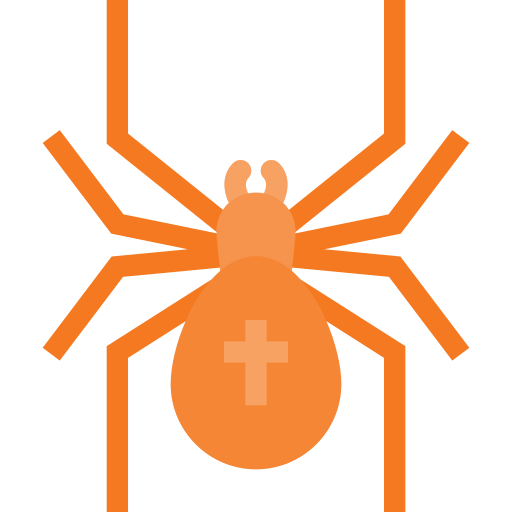 cross, halloween, holyday, scarry, spider icon