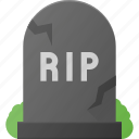 cemetery, grave, halloween, holyday, rip, stone, yard icon