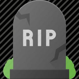 cemetery, grave, halloween, holyday, rip, stone, yard icon