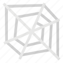 cobweb, halloween, holyday, spider, web icon
