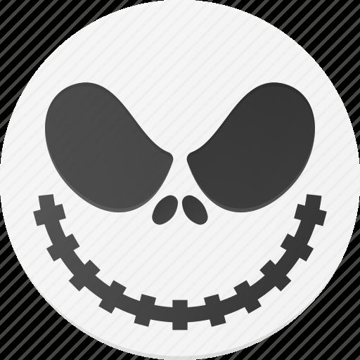 halloween, head, holyday, jack, mask, skellington icon