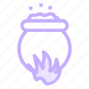 halloween, witchcookingicon icon