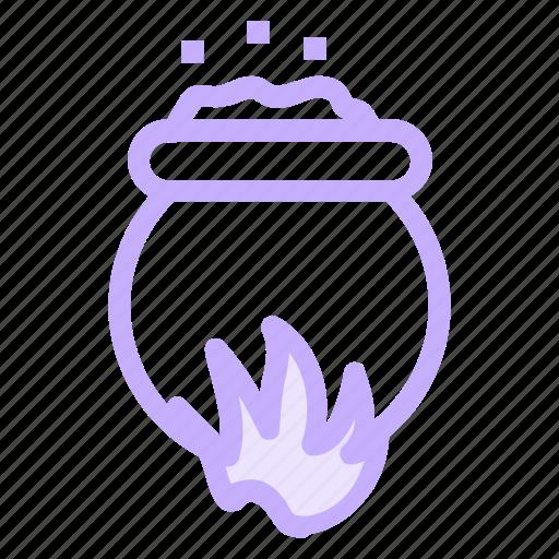 halloween, witchcookingicon icon