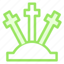 grave, halloween, tombstoneicon icon
