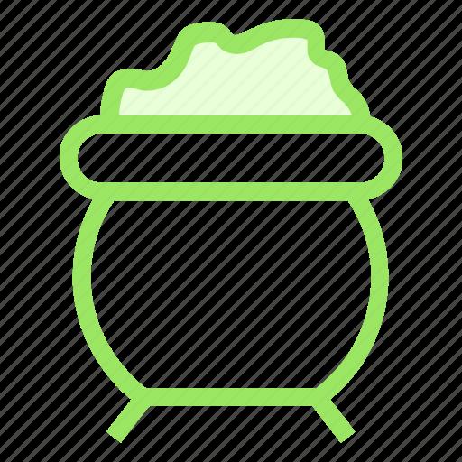 cauldron, halloweenicon icon
