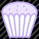 cake, cupcake, dessert, halloweencake, muffinicon icon