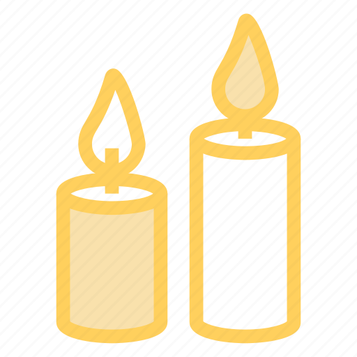 candle, candlestick, chamberstick, christmas, holiday icon