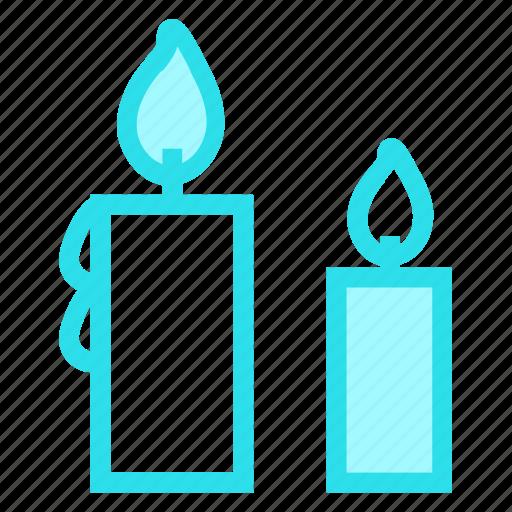 candle, halloweenicon icon