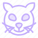 cat, halloweenicon icon