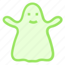 ghost, halloween, scaryicon icon