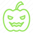 goofy, halloween, pumpkinicon icon