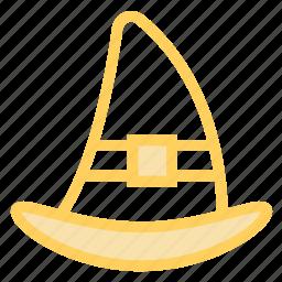 halloween, hat, magic, sorcerer, sorcery, witch, wizardicon icon