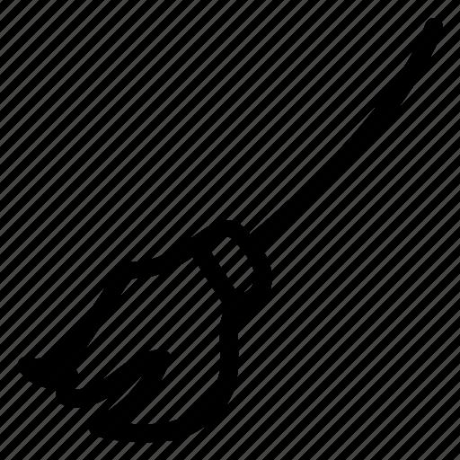broom, halloweenicon icon