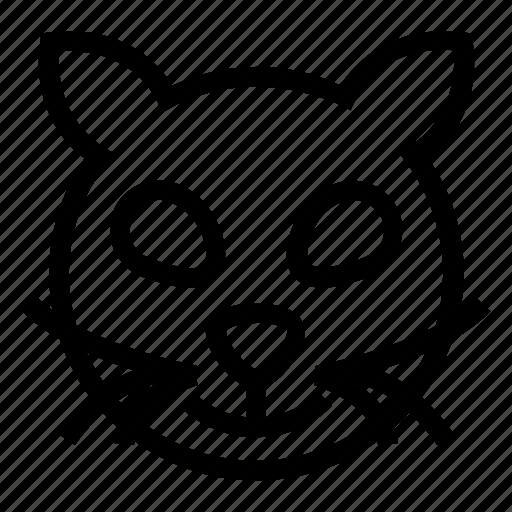cat, halloweenicon icon