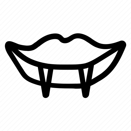 demonmouth, devilteeth, halloweendemonmout icon