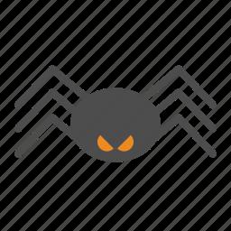 death, halloween, spider icon