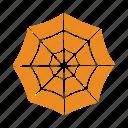 halloween, net, spider