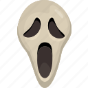 costume, halloween, horror, mask, monster, scary, snorkel icon