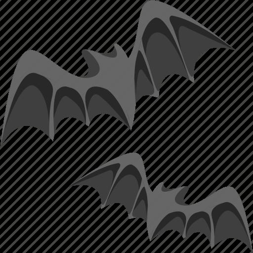 bats, halloween icon