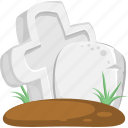 grave, gravestone, halloween, tomb, tombstone icon