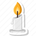 candle, candles, celebration, halloween, light, night icon