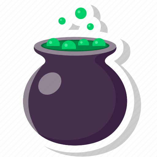 halloween, horror, pot, potion, scary, witch icon