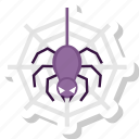 bug, eye, halloween, nightmare, scary, spider icon