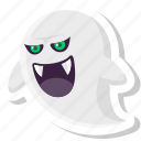 dead, ghost, halloween, horror, monster, phantom, scary icon