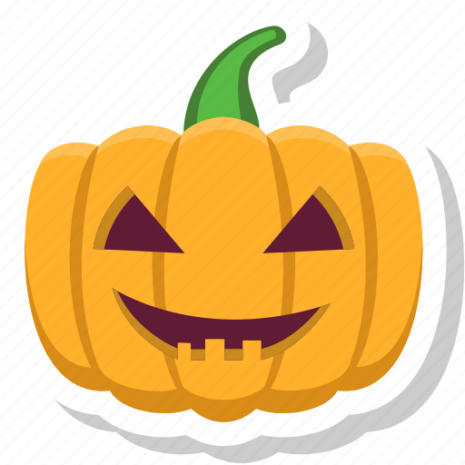 halloween, horror, ornament, pumpkin, scary icon