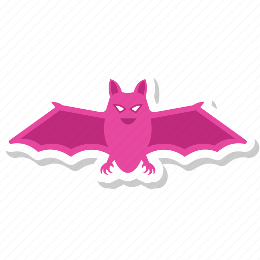 bat, fly, halloween, scary, vampire, wings icon