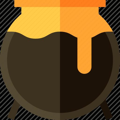 cauldron, cook, food icon