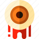 eyeball, halloween, horror, scary icon